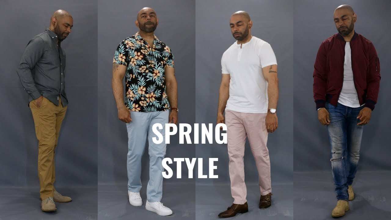 6 Great Men's Spring  2019 Outfits Featuring Huge Express Haul 2