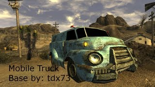 Fallout New Vegas: Mobile Truck Base (Old Version)