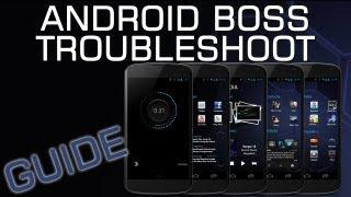 Android Ubuntu Boss Troubleshoot Guide + Tips & Tricks