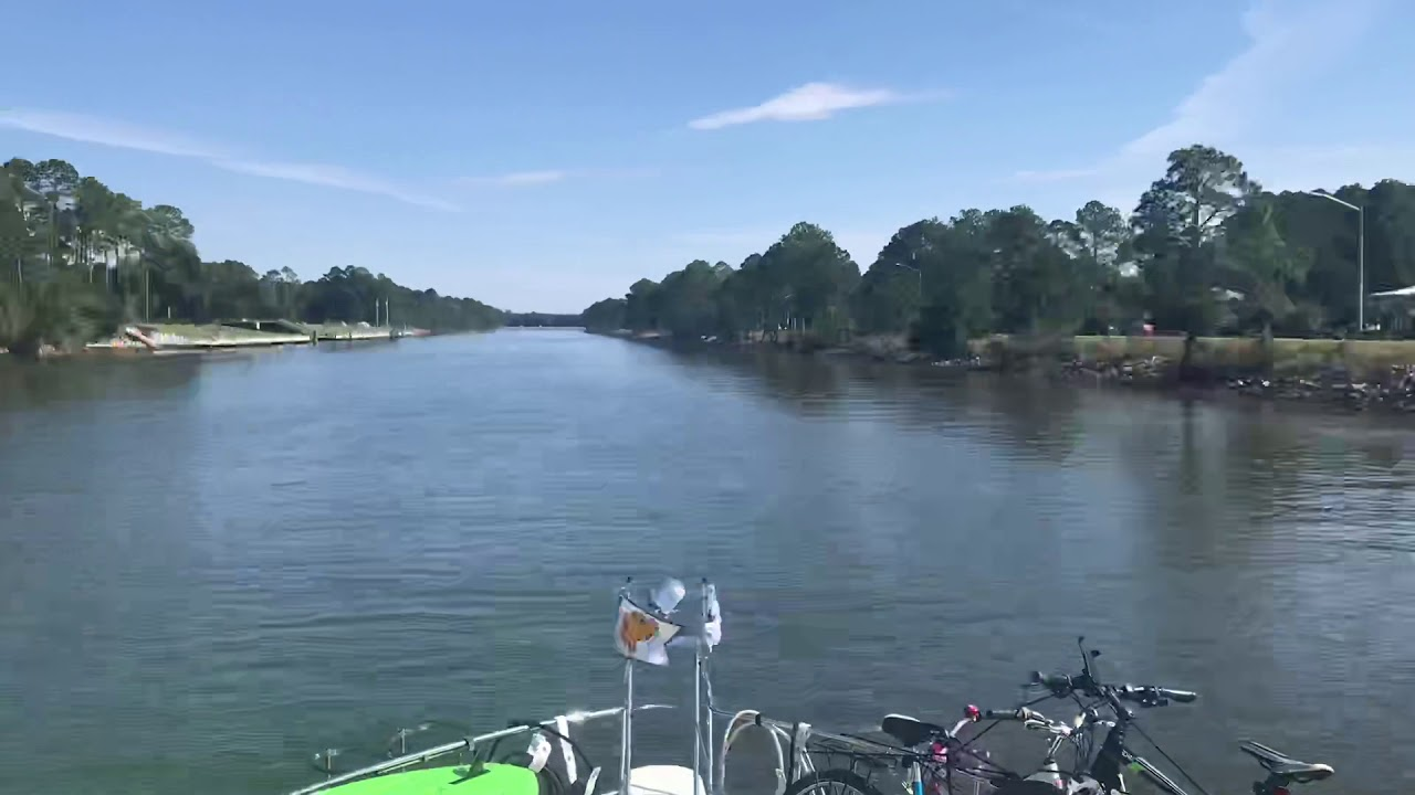 INNTW ICW from Mobile Bay to Orange Beach - YouTube