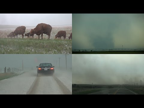 Colorado Extreme Weather,  Tornado, Hail And Dust Storm - 5/25/2017