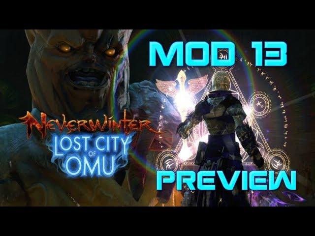 Neverwinter - Mod 13 Preview (Vivified Primal, Hunt Armor, +5 Rings)