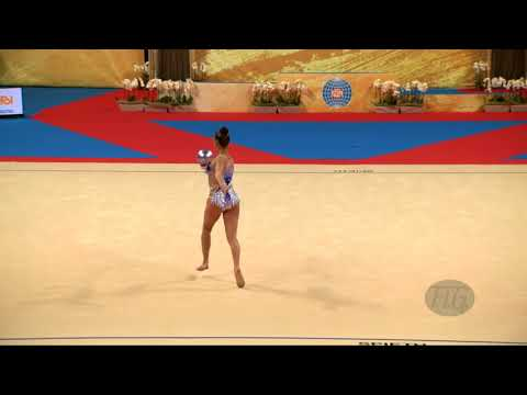 TASEVA Katrin (BUL) - 2018 Rhythmic Worlds, Sofia (BUL) - Qualifications Ball