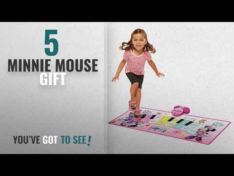 Top 10 Minnie Mouse Gift [2018]: Minnie Mouse Together Is Better Electronic Music Mat Play