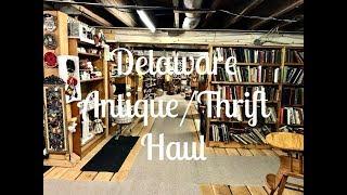 Delaware Antique/Thrift Haul|E D I T H