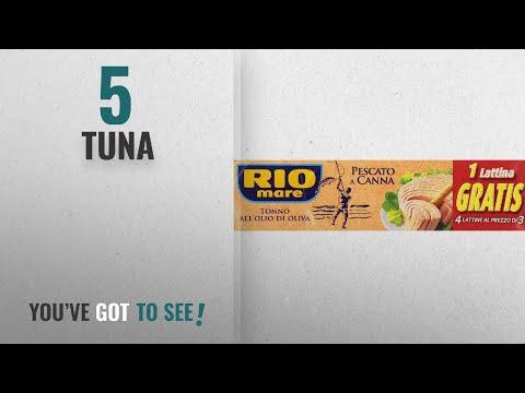Top 10 Tuna [2018]: Rio Mare Tuna In Olive Oil (4x80g)