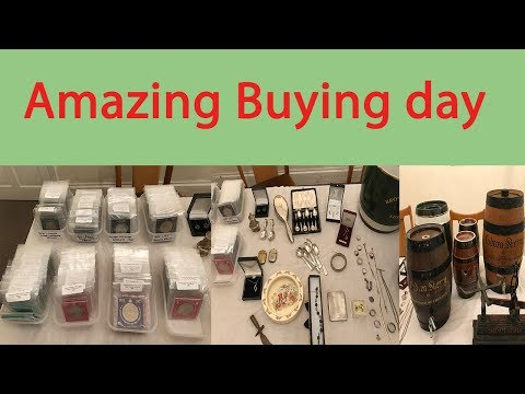 Superb Haul At The Shop   Antiques Collectables Jewellery Silver Gold Coins Doulton Lambeth