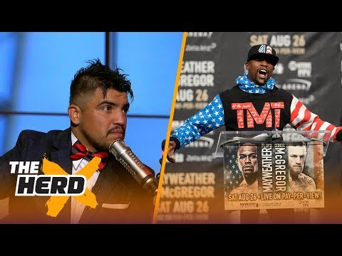 Victor Ortiz breaks down Floyd Mayweather's game, explains why McGregor has a chance | THE HERD