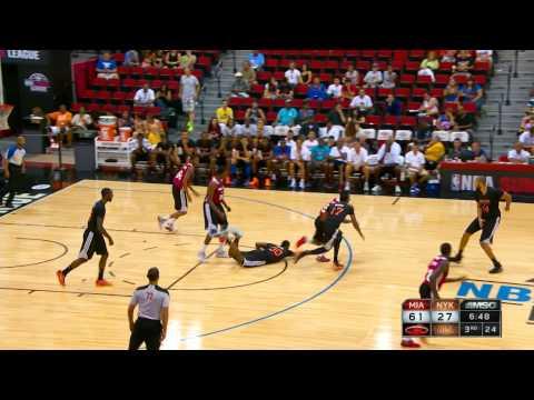 Miami Heat vs New York Knicks Summer League Recap