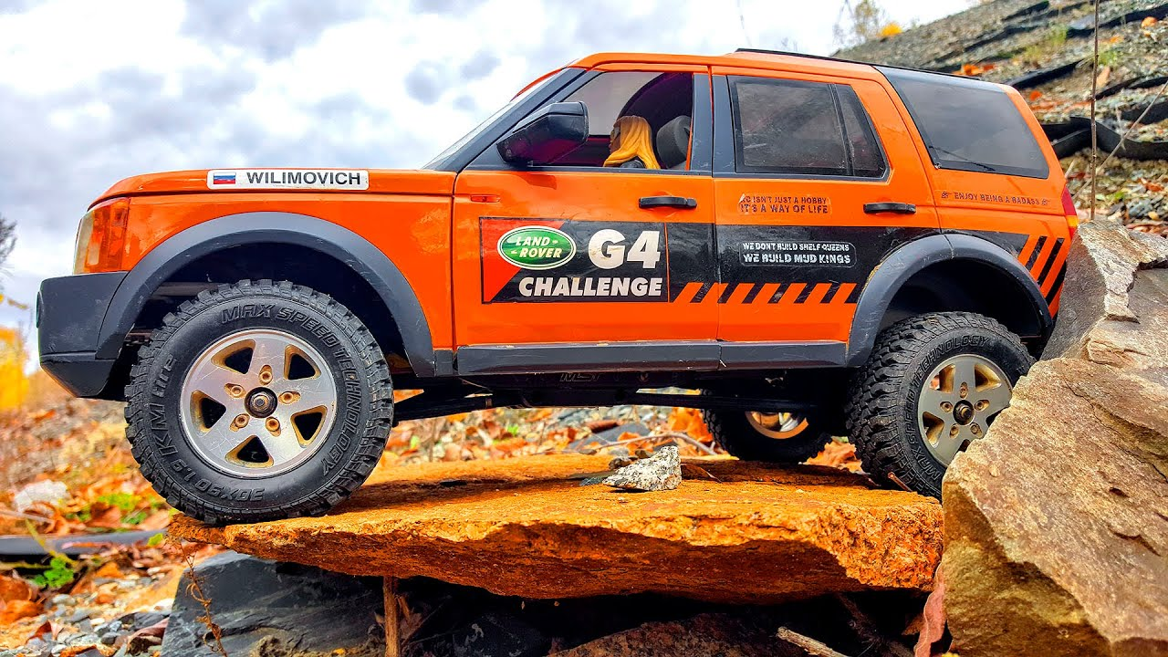 Radio Controlled Car 4x4 OFF Road Extreme – Land Rover Discovery | Wilimovich