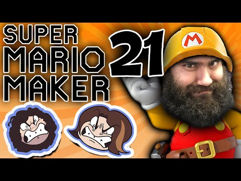 Super Mario Maker: There and Gone - PART 21 - Game Grumps