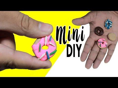 DIY | Mini Donuts - HOW TO MAKE MINIATURE DONUTS!!!