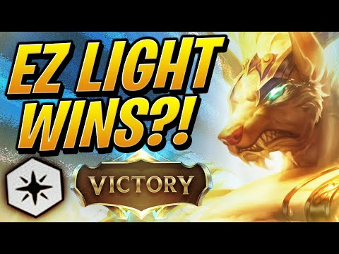 GUIDE: HOW TO GRAB TFT WINS w/ 6 LIGHT! | Teamfight Tactics Set 2 | TFT League of Legend Auto Chess