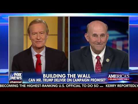 Gohmert on Trump Promise to Build A Wall On The Southern Border