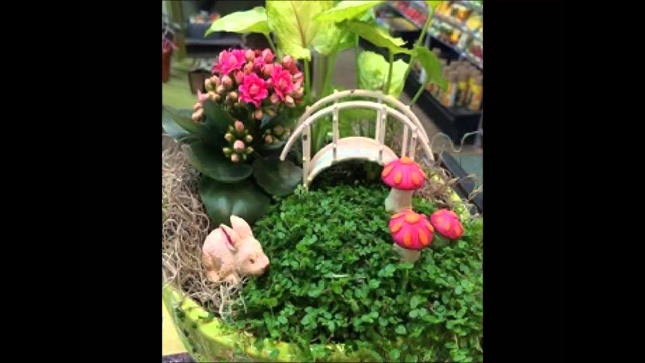 Miniature Fairy Garden Ideas - YouTube