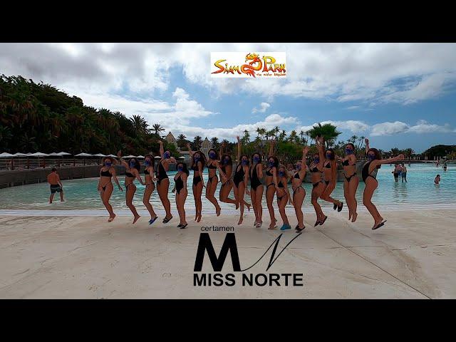 Miss Norte viviendo la experiencia SIAM PARK