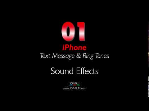 IPhone Message Sound Effects HD - MOBILE Ring Tones 01 - Text Tone