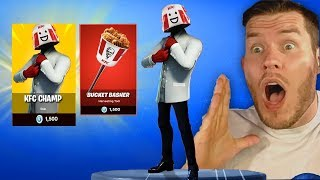 der KFC GAMING SKIN chauve à Fortnite ?