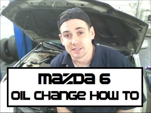 Mazda 6 Oil Change How To Mazda6   YouTube