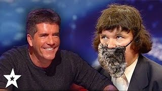 Worst Impressionist Simon Has Ever Seen! Funny Audition on Britain's Got Talent 2008