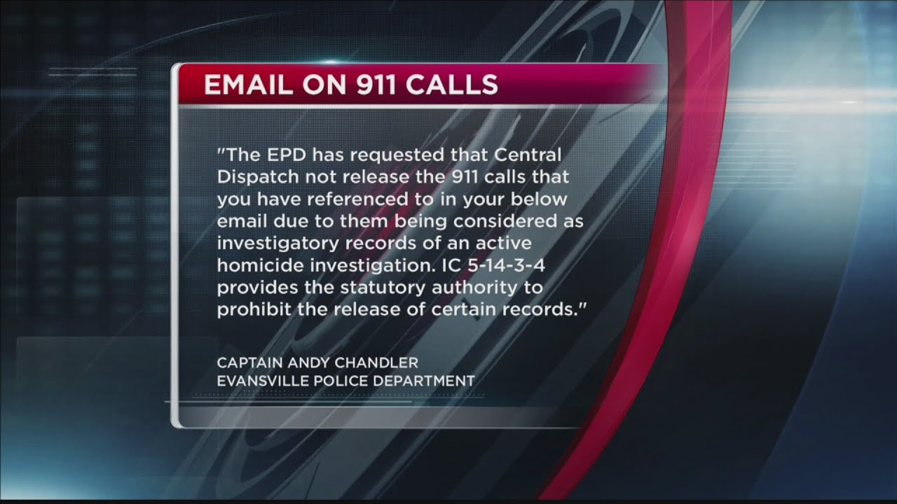 Courier & Press files complaint after dispatch refuses to release 911 calls
