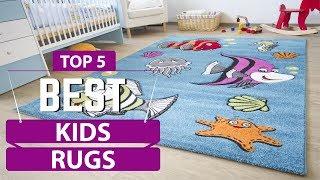✅ Top 5: Best Kids Rug Reviews In 2019 | Baby Room Rugs (Buyers Guide)