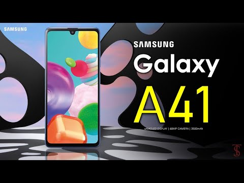 Samsung Galaxy A41 Official Look, Design, Specifications, Camera, Features and Availability Details