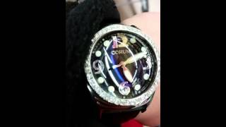 Mens Corum Boutique diamond watch