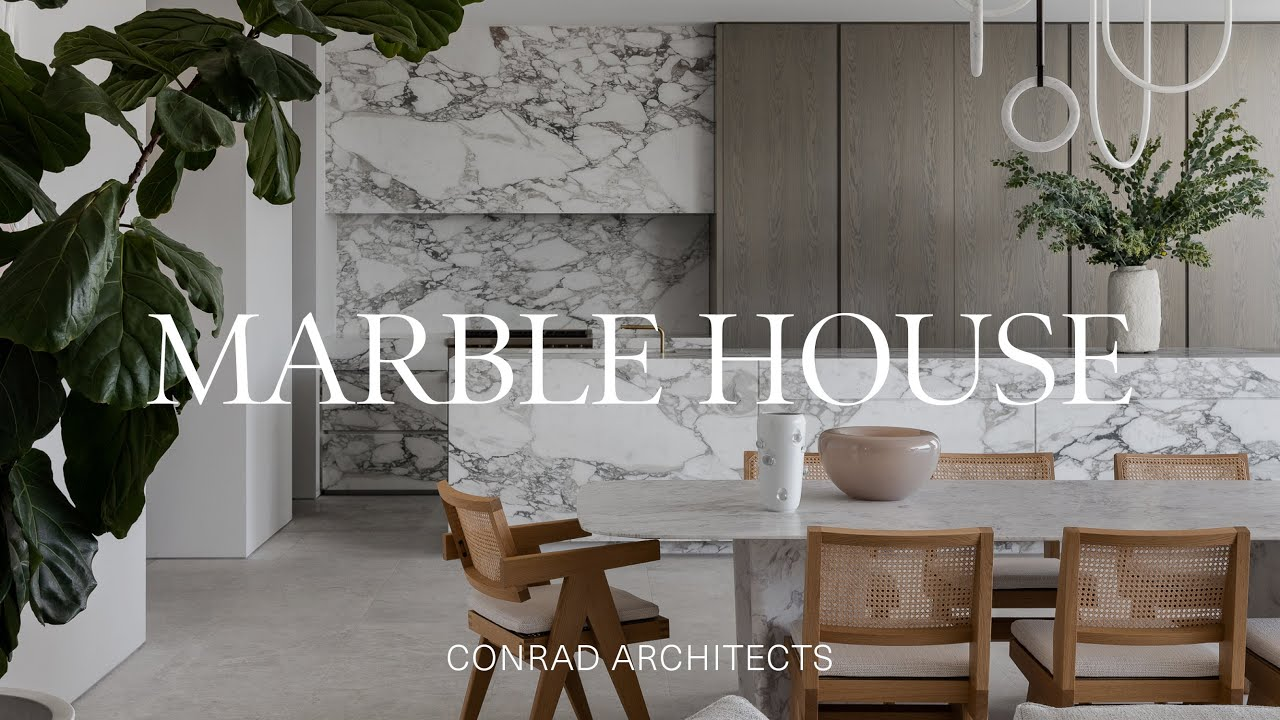 The Journey of Designing a Home Made of Marble (House Tour)