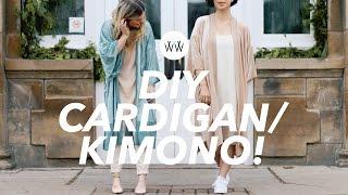 How to Make a Cardigan/Kimono (2 styles!) | WITHWENDY