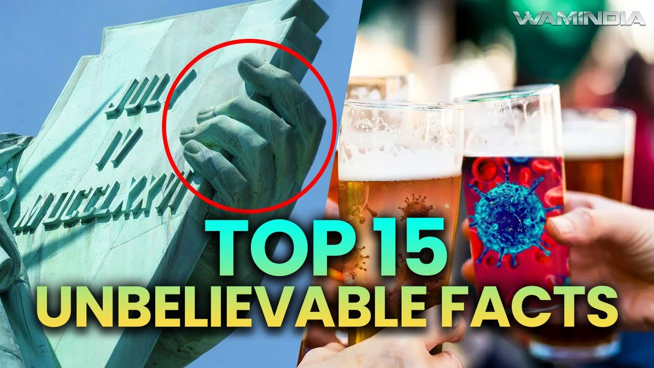 Top 15 Unbelievable and Amazing (Interesting) Facts To Blow Your Mind