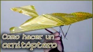 Como hacer un ornitóptero o pájaro mecánico thumbnail