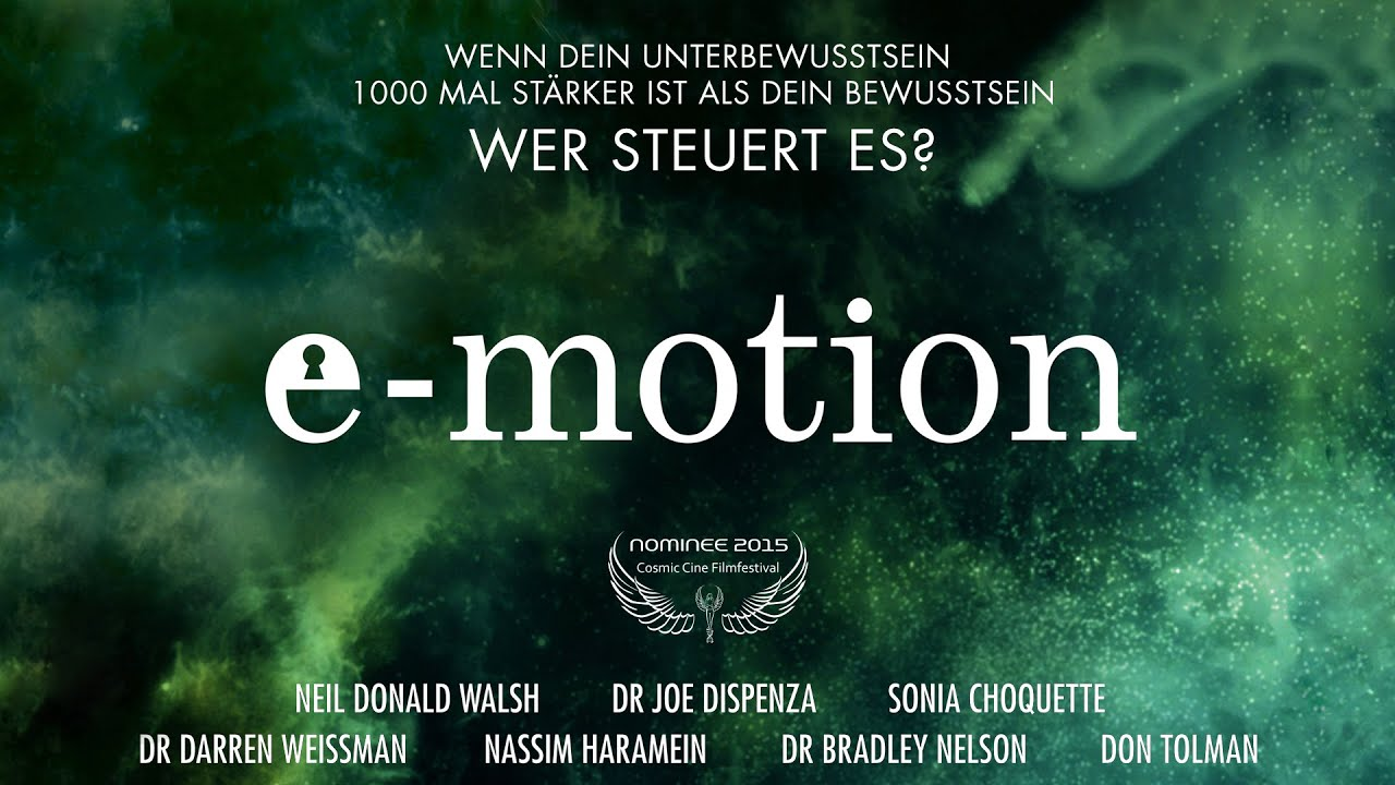 E-MOTION - Nominee Cosmic Angel 2015 - Trailer Deutsch