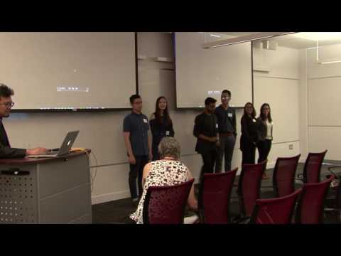 Industry Showcase 2017: Student Presentations
