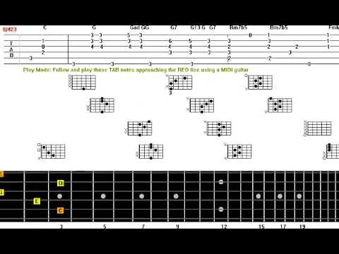 Alone Again Naturally Guitar Solo Tab Youtube