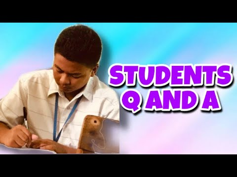 STUDENTS Q AND A | Jem Libres