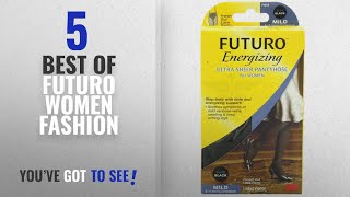 Futuro Women Fashion [2018 Best Sellers]: FUTURO Ultra Sheer Pantyhose Women, Plus, Black, F Cut