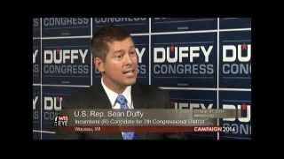 U.S. Rep. Sean Duffy (R) Incumbent for 7th Congressional District