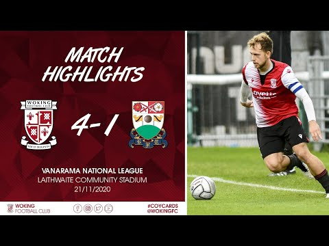 Woking Barnet Goals And Highlights