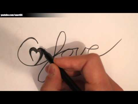 Love drawings step by step