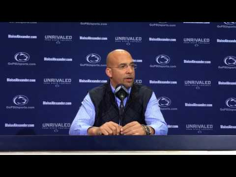 Penn State coach James Franklin on Joe Paterno