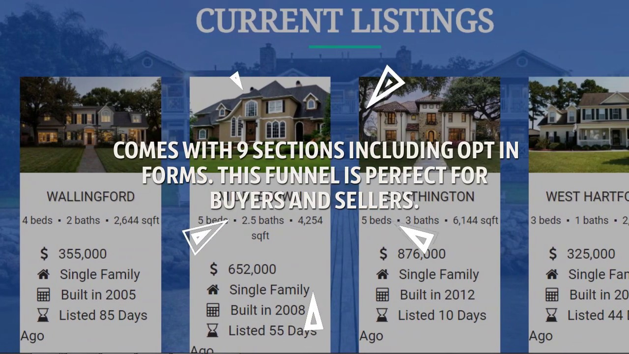 Generate Real Estate Leads Online with this FREE Real Estate Clickfunnels Sales Funnel Template