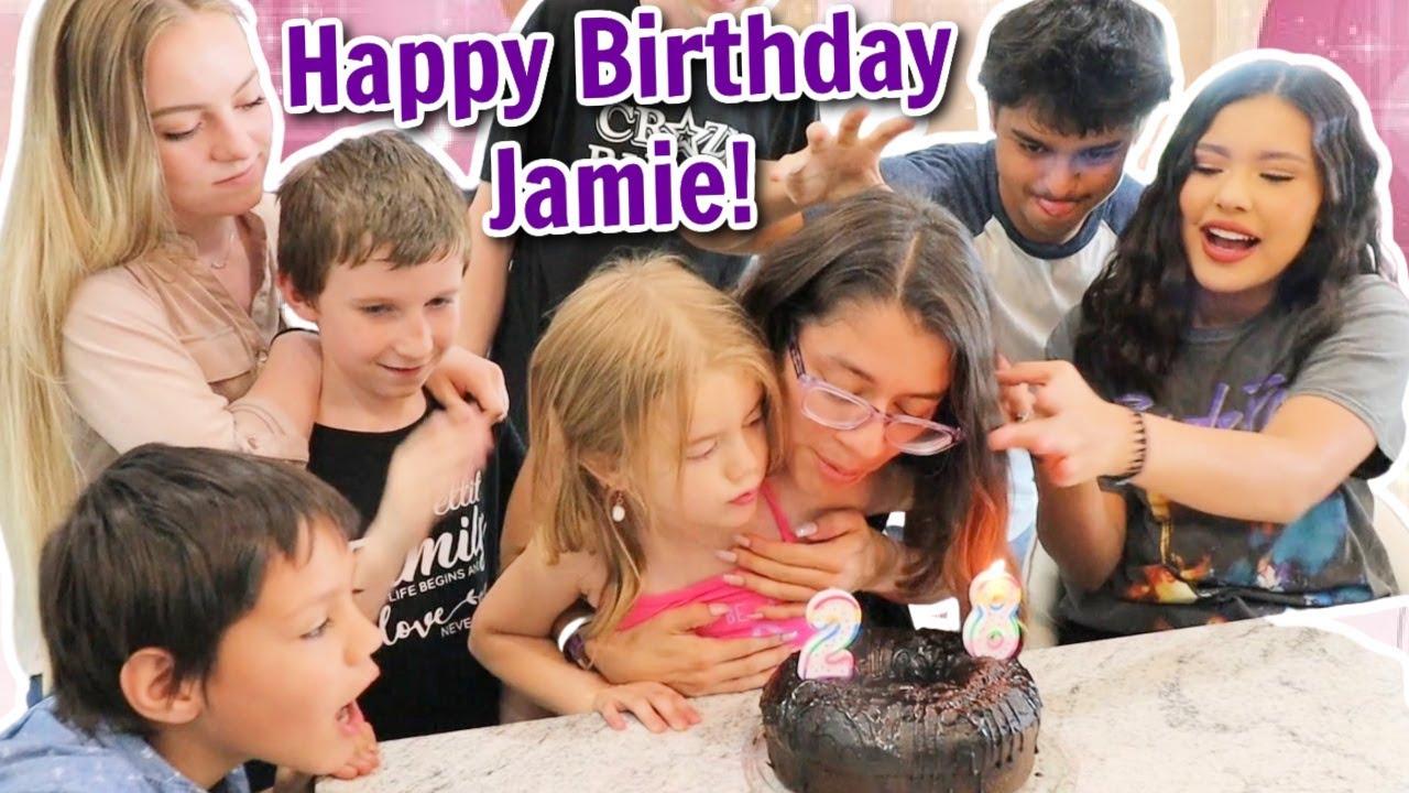 JAMIE 28TH BIRTHDAY SPECIAL   BIRTHDAY PARTY