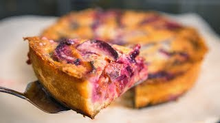 Сливовый пирог с пряностями   АСМР    Рецепт