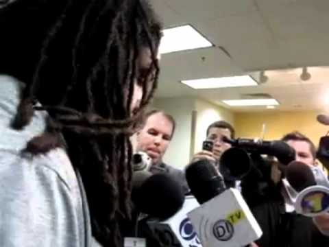Adrian Clayborn Cries: Iowa Hawkeyes vs Wisconsin 2010 Football