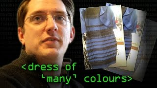 True Colour of 'The Dress' #thedress (colours in digital images) - Computerphile