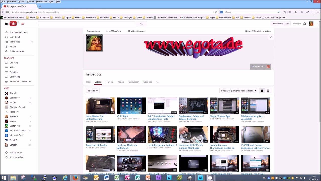 Atemberaubend Youtube Website Vorlage Ideen - Beispiel Anschreiben ...