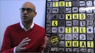 Ayad Akhtar explains THE WHO & THE WHAT