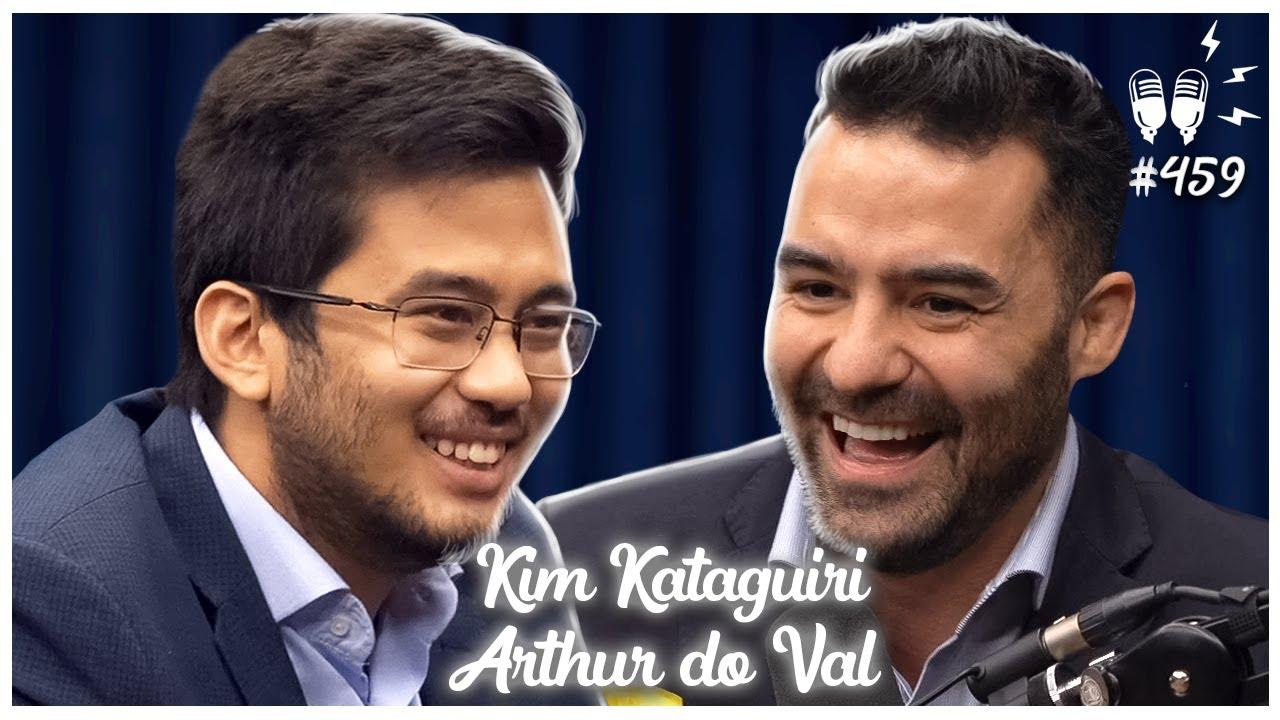 KIM KATAGUIRI E ARTHUR DO VAL - Flow Podcast #459