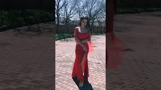G 3125 Платье вечерне с рукавами из сетки video